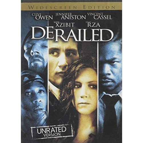 Image 0 of Derailed Unrated Widescreen On DVD With Clive Owen Mystery