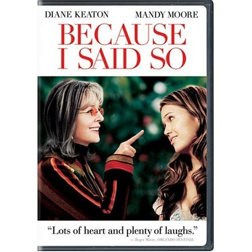 Image 0 of Because I Said So Full Screen Edition On DVD With Diane Keaton