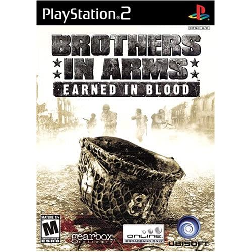 Brothers In Arms Earned In Blood For PlayStation 2 PS2 Shooter
