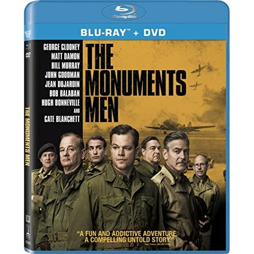 Image 0 of The Monuments Men +DVD +Digital HD On Blu-Ray