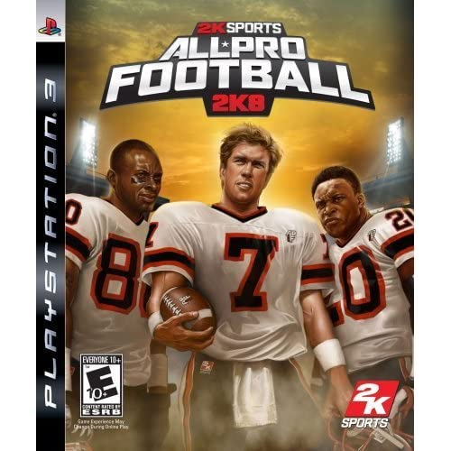 All Pro Football 2K8 For PlayStation 3 PS3