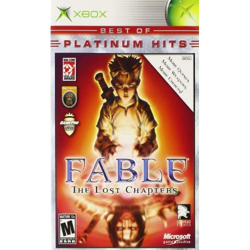 Fable: The Lost Chapters For Xbox Original RPG