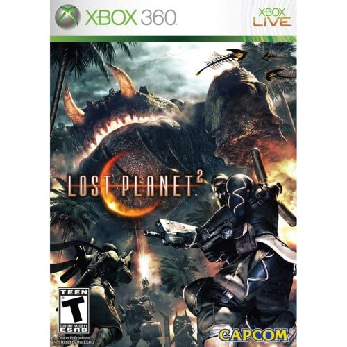 Shooting Games For Xbox 360 : Lost planet for xbox shooter with manual and case