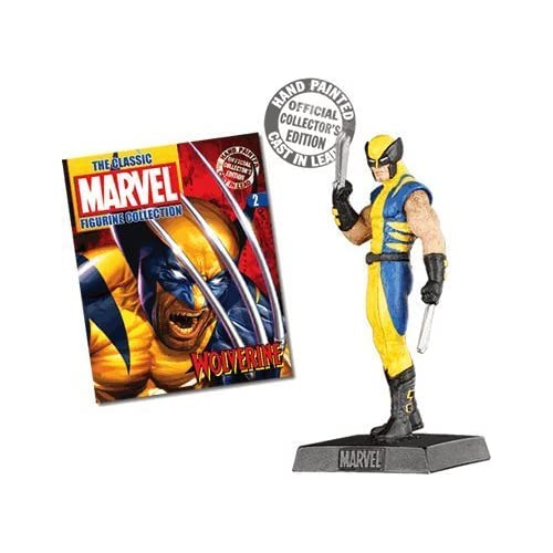 Classic Marvel Figurine Collection #2 Wolverine Toy