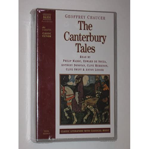 Image 0 of Canterbury Tales By Chaucer On Audio Cassette