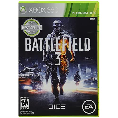 Shooting Games For Xbox 360 : Battlefield for xbox shooter with manual and case