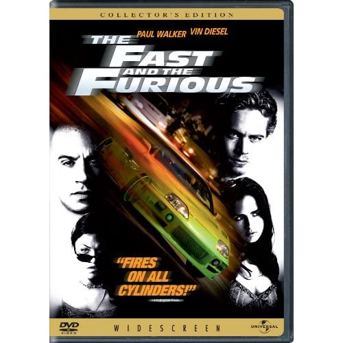 Image 0 of The Fast And The Furious On DVD With Vin Diesel