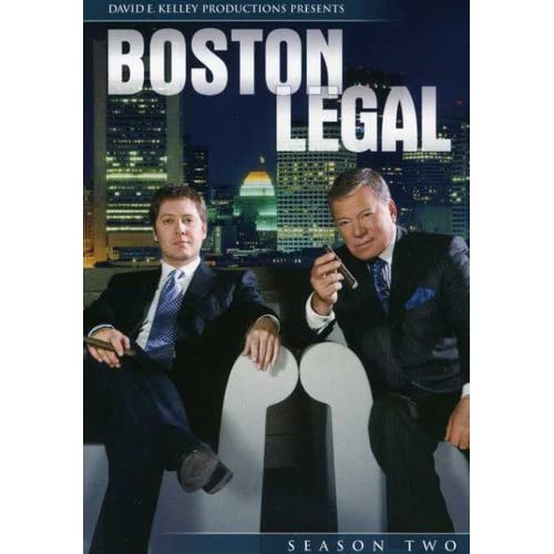Image 0 of Boston Legal Season 2 On DVD Drama