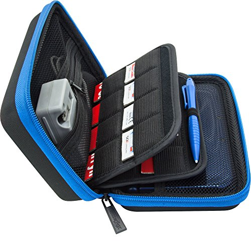 Brendo Carrying Case For New Nintendo XL 2DS XL Case Fits Wall Charger 24 Game C