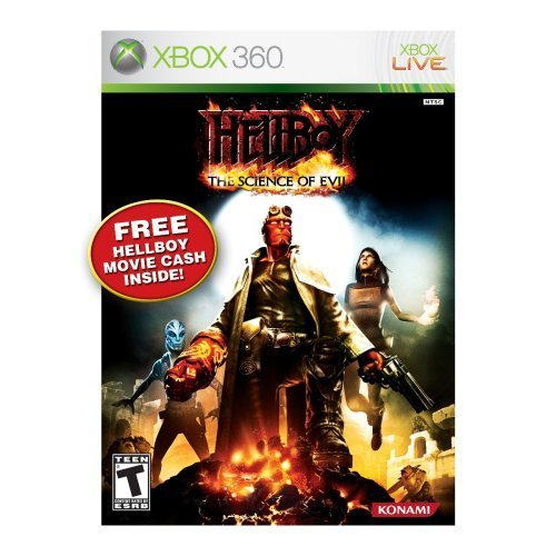 Fighting Games For Xbox 360 : Hellboy the science of evil for xbox fighting