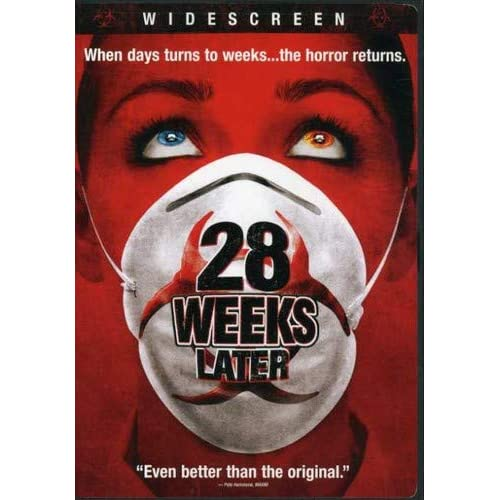 28 Weeks Later Widescreen Edition On DVD With Jeremy Renner Horror