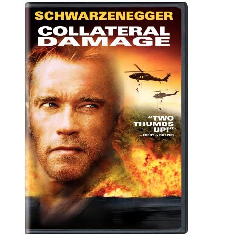 Image 0 of Collateral Damage Keepcase Packaging On DVD With Arnold Schwarzenegger Mystery