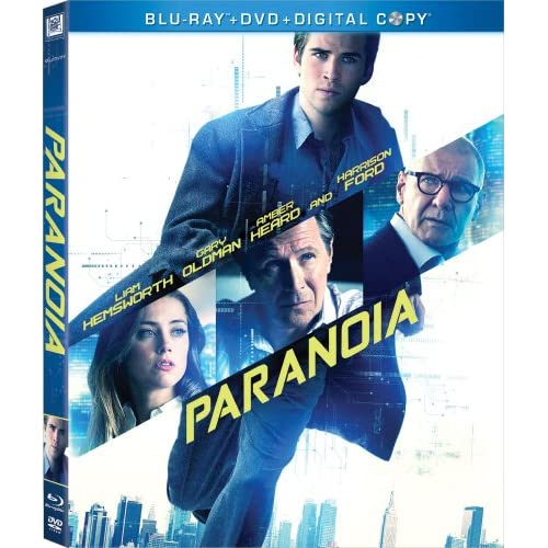 Image 0 of Paranoia Blu-Ray On Blu-Ray With Harrison Ford Mystery