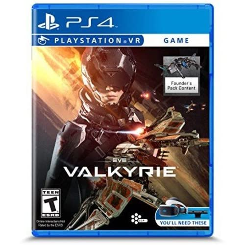 Eve: Valkyrie PlayStation VR For PlayStation 4 PS4 Shooter
