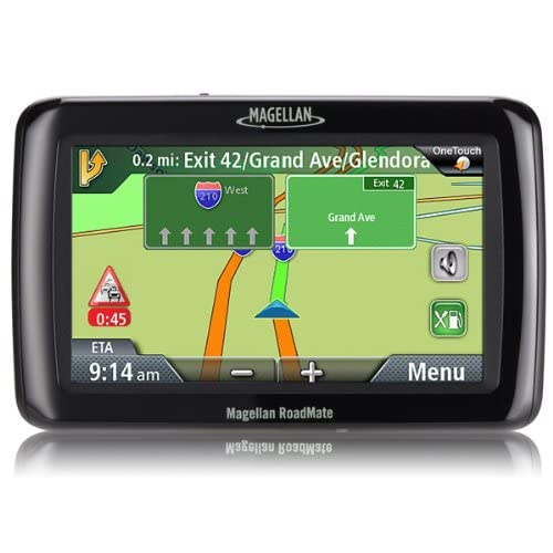 Magellan Roadmate 2036 GPS Receiver With Preloaded Maps Of United