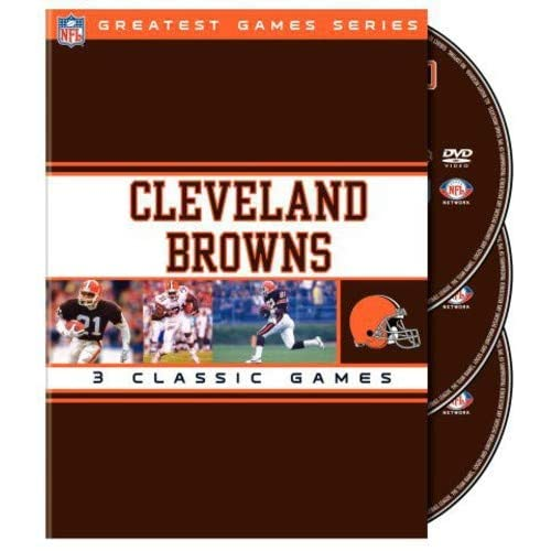Image 0 of Cleveland Browns: NFL Greatest Games On DVD Football
