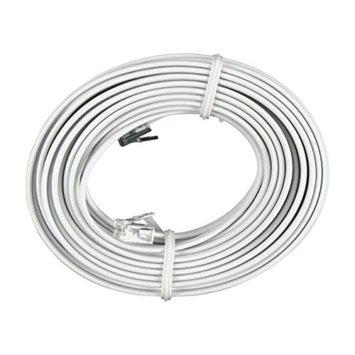 GE Line Cord White 25 Ft TELEPHONE14