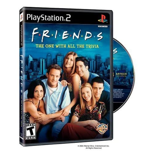 Friends: The One With All The Trivia For PlayStation 2 PS2