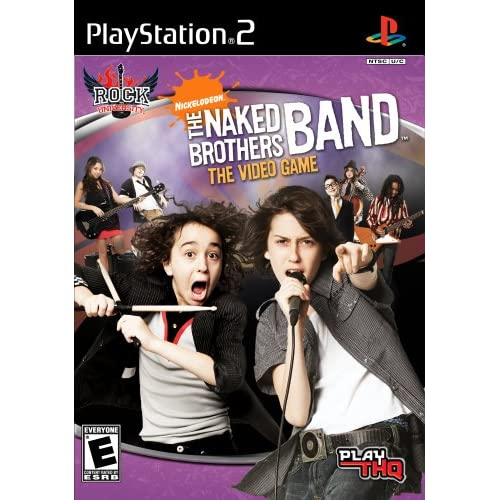 Naked Brothers Band PS2 Music For PlayStation 2