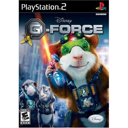 G-Force For PlayStation 2 PS2 Disney With Manual And Case