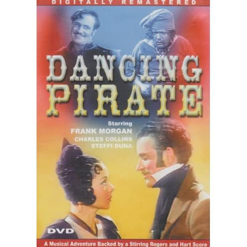 Image 0 of Dancing Pirate Slim Case On DVD with Frank Morgan
