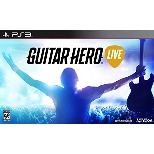 Guitar Hero Live For PlayStation 3 PS3 Music