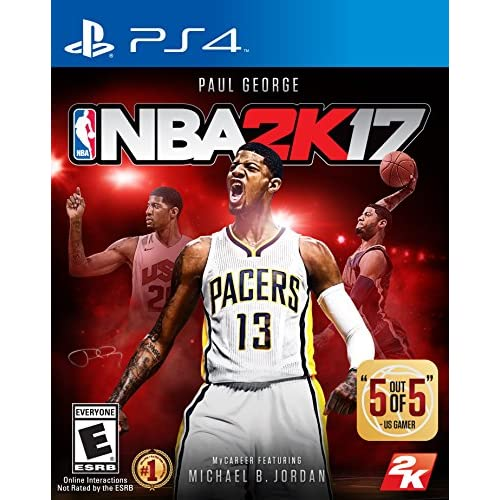 Image 0 of NBA 2K17 Standard Edition For PlayStation 4 PS4 Basketball