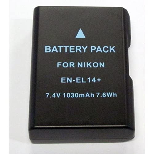 Decoded Replacement Li-Ion Battery For Nikon EN-EL14+ By Mars Devices