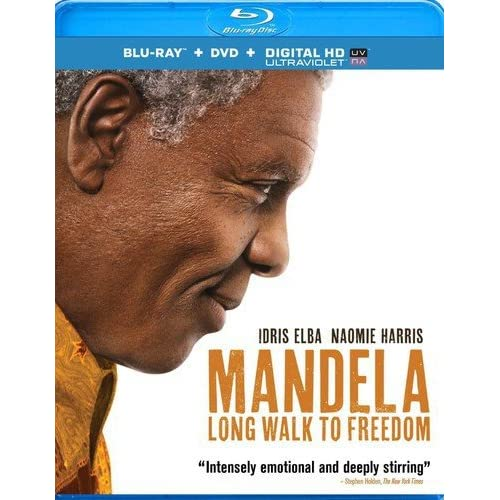 Mandela: Long Walk To Freedom Blu-Ray/dvd/uv On Blu-Ray With Idris Elba