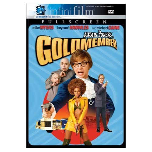 Image 0 of Austin Powers In Goldmember Infinifilm Full Screen Edition By Mike Myers On DVD