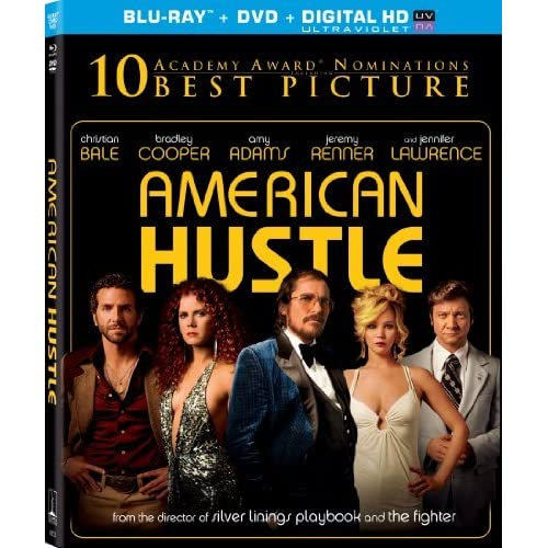 American Hustle Blu-Ray Digital HD With Ultraviolet By Sony Pictures Home Entert