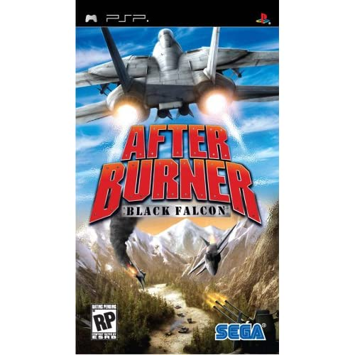 After Burner: Black Falcon Sony For PSP UMD