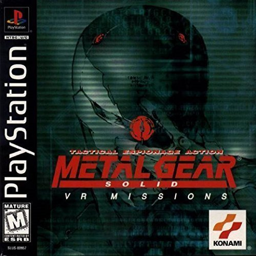 Image 0 of Metal Gear Solid: VR Missions For PlayStation 1 PS1