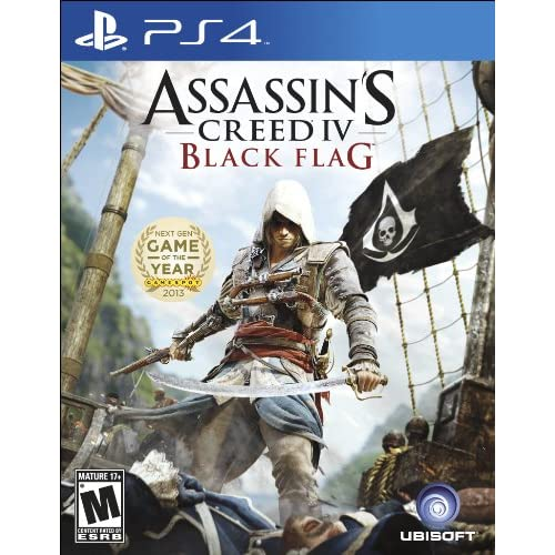 Image 0 of Assassin's Creed IV Black Flag For PlayStation 4 PS4 Fighting
