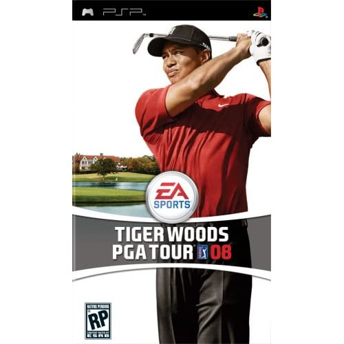 Image 0 of Tiger Woods PGA Tour 08 Sony For PSP UMD Golf