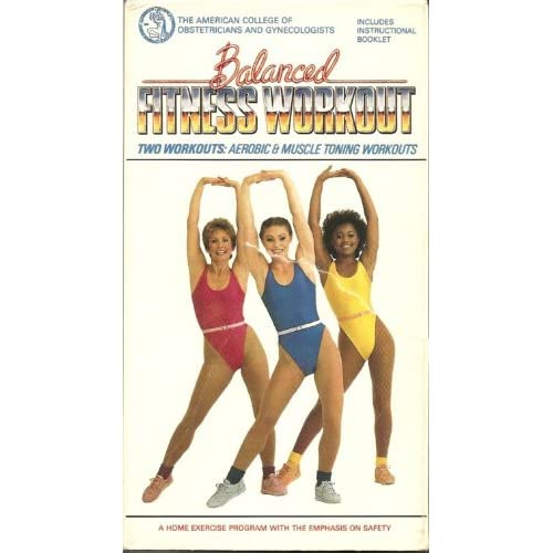 Balanced Fitness Workout Program On VHS Exercise