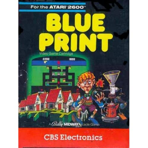 Blueprint For Atari 5200 Vintage Strategy
