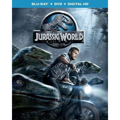 Image 0 of Jurassic World Blu-Ray On Blu-Ray With Chris Pratt