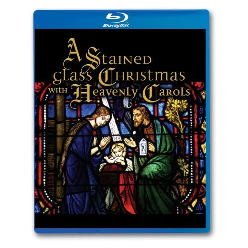 Image 0 of A Stained Glass Christmas With Heavenly Carols Blu-Ray