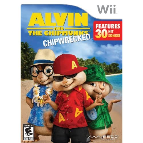 Alvin And The Chipmunks: Chipwrecked For Wii Music