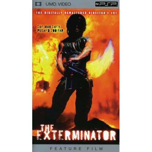Image 0 of The Exterminator Movie UMD For PSP