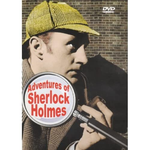 Image 0 of Adventures Of Sherlock Holmes Slim Case On DVD With Ronald Howard