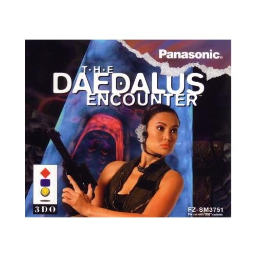 The Daedalus Encounter For 3DO Vintage With Manual And Case