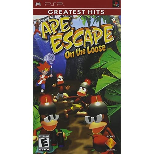 Image 0 of Ape Escape On The Loose For PSP UMD