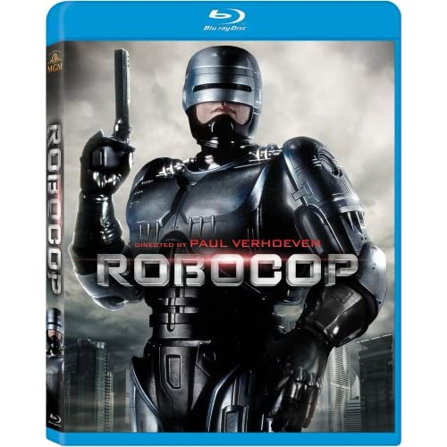 Robocop Unrated Director's Cut Blu-Ray On Blu-Ray With Peter Weller