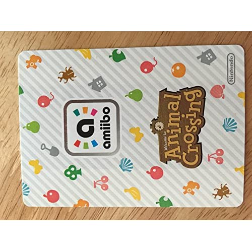 Image 2 of Animal Crossing Happy Home Designer Amiibo Card Lottie 017/100 TCG