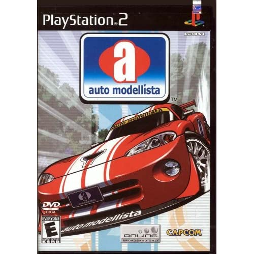 auto modellista for playstation 2 ps2 racing. Black Bedroom Furniture Sets. Home Design Ideas