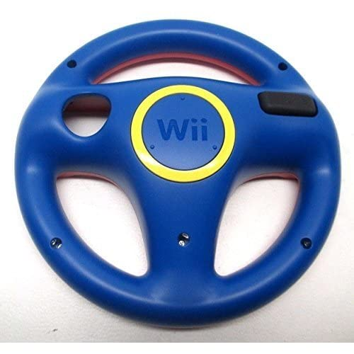 Image 0 of Official Steering Wheel RVL-024 Mario Kart Red / Blue Rvl-Hak-Usz For Wii