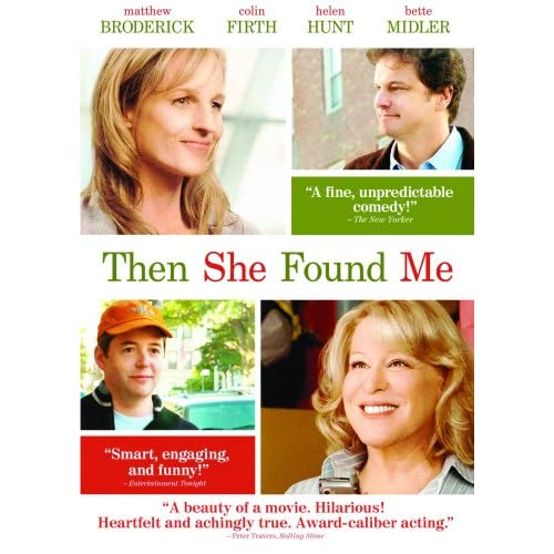 Image 0 of Then She Found Me On DVD with Matthew Broderick
