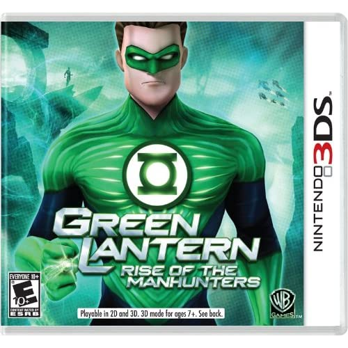 Green Lantern: Rise Of The Manhunters Nintendo For 3DS